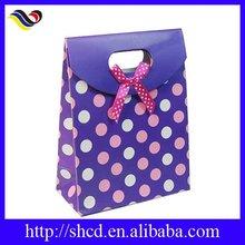 high quality hot sale polka dot paperbag