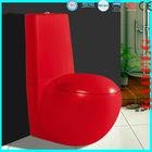 B2301AR Elegant Oval Two Piece Ceramic Red Toilet