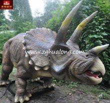 2014 animatronic Triceratops dinossauro de borracha