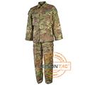 Uniforme militar IR resistente Italia camuflaje con cuatro capas de nylon Hilo cosido