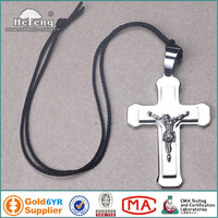 High Quality Stainless Steel Jesus Cross Necklace