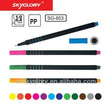 0.4 mm nib size round barrel fine line pen