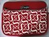 Promotional neoprene red laptop cases