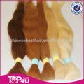 Livraison rapide et complète cuticule. 100% blonde cheveux remy asiatique