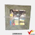 luckywind country style classique en bois miroir