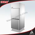 Comercial refrigerador de acero inoxidable soporte / de tamaño personalizado refrigerador / restaurante de cocina refrigerador