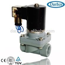 CPVC chemical solenoid valve for calcium acetate