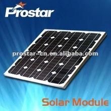 high quality boat 45w semi-flexible monocrystalline silicon solar panel