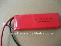 14.8v 4400mah 20C rechargeable rc toy lithium ion battery high c-rate battery