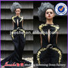 Fashion Embroidery Designer Couture Evening Dress 2013
