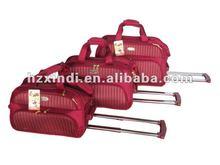 2013 3pcs trolley bag with 1680D jacquard