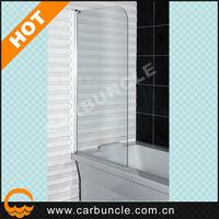 Shower door plastic parts for bathtub screen