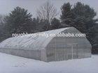Double layer film greenhouse Plastic film greenhouse in winter