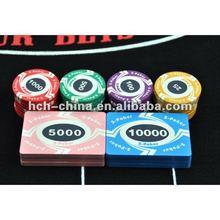 9.7g IPT Casino Quality Ceramic Poker Chips EPT Poker Ceramic Chips