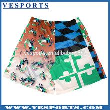 Sublimada LAX pantalones cortos de diseño personalizado Lacrosse promocional uniformes