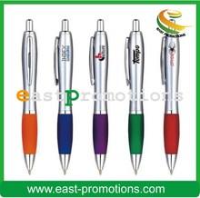 custom logo printing plastic promotional ballpoint pen