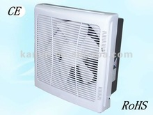 6''/8''/10''/12''wall mounted exhaust fan/blind/square ventilation fan with filter with net for house, kitchen, washroom, office