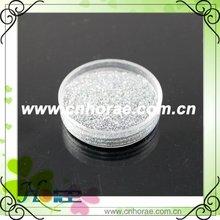 1/128 silver glitter powder for garment