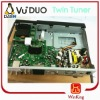 twin tuner digital satellite decoder vu duo tv box receiver DVB-S2 Linux OS hd vu+ Duo