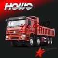 Camion à benne basculante camion lourd howo 8x4 commerçant.