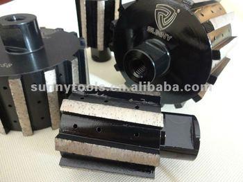 Metal Bond Small Abrasive Diamond Grinding Drum Wheel for Granite