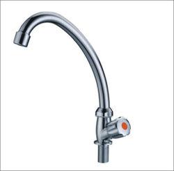 chrome plastic kitchen faucets