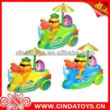 cute fruit cartoon car plastic toys trikes for kids