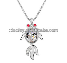 High quality 2012 Hot Sale Austria crystal fashion women's necklace