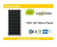 ODA75-16-M 75W 16V Solar Panel Price India