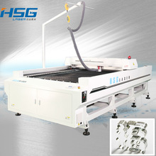 2012 NEW Flat Bed with reci laser tube cnc laser cutting machine high precision for 30mm acrylic reci 135w HS-B1525