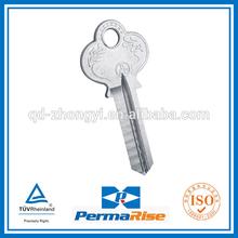 iron door key blank for yale lock
