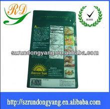 Custom Printed Cartoon Heat Seal Plastic Snack Packaging