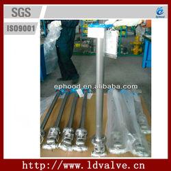 Long stem forged gate valve