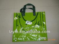 2014 hot laminated pp woven shopping bag