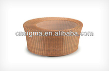 2014 New Style nautical modern round marble top coffee table