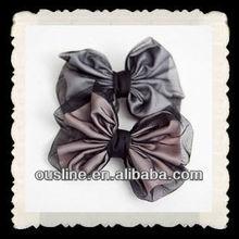 organza satin bows,headwear hair bows,hair ornament