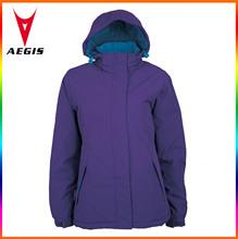 2014 new design jacket, cheap purple womens nylon windbreaker jackets