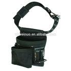 Black Nylon Waist Tool Bag