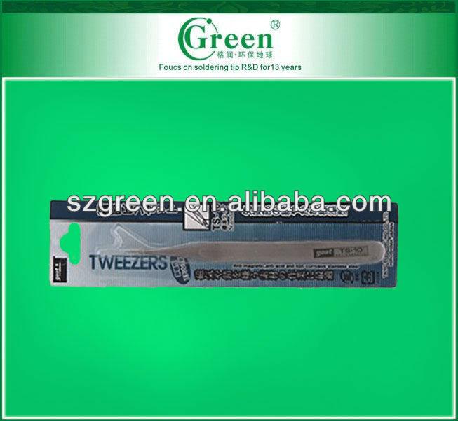 GOOT stainless steel tweezers Long TS-10