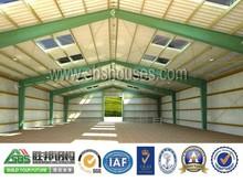 Designed Prefabricated Workshop Steel Structure Building