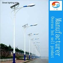 solar street lights pole design solar power energy cheap street light pole