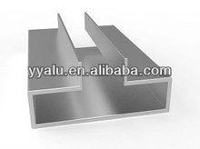 Slatwall display Aluminum/aluminum slatwall for Display Gondola/Slat wall Display Gondola