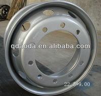 Tubeless steel wheel 22.5x8.25