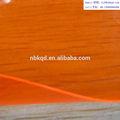 brilho de borda de pvc retardante de fogo transparente filme fluorescentes para impermeáveis