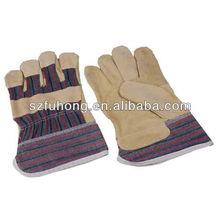 Qualité en cuir grain de peau de porc utilisation pour travail général secrurity gant