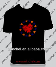 fashion design couple el t shirt