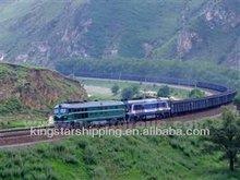 Sea-rail transportation service from Hongkong to Bazaikha