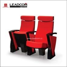 Leadcom European designed Luxury fabric theater chair (LD-8612)