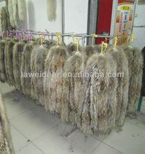 high quality racoon fur for hood