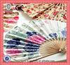 hot sale promotion products folding fan bamboo fans hand fan
